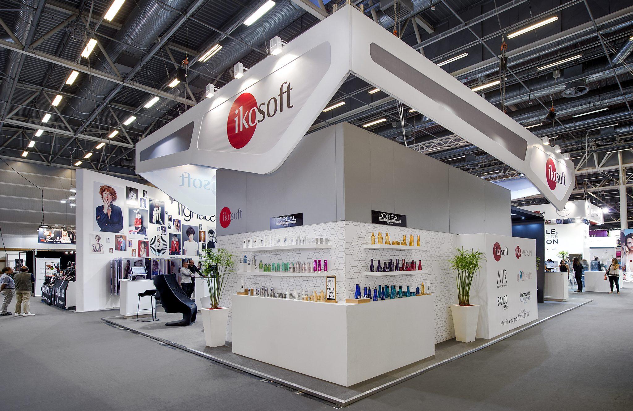 Stand Ikosoft - 108 m² avec Mezzanine 14 m² - Salon MCB 2016 ...