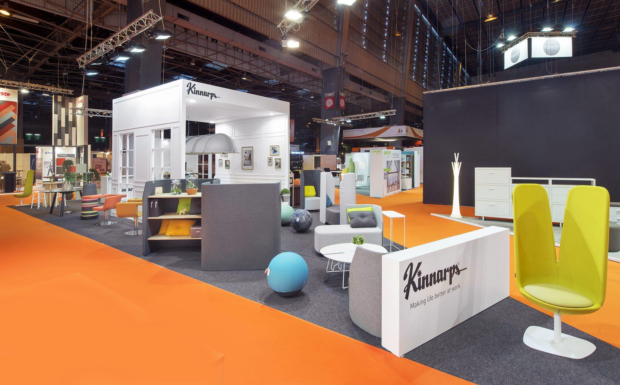 Expo Stands Interior Office 2016 : Stand kinnarp s m² salon bureau expo b