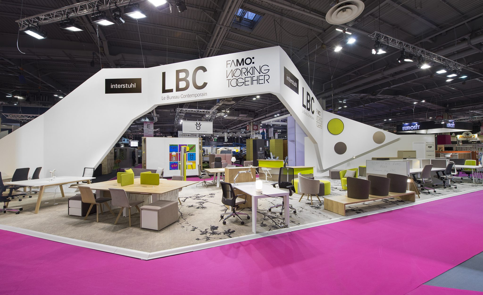 Stand lbc 140 m salon workspace 2017 stand 2b for Salon workspace