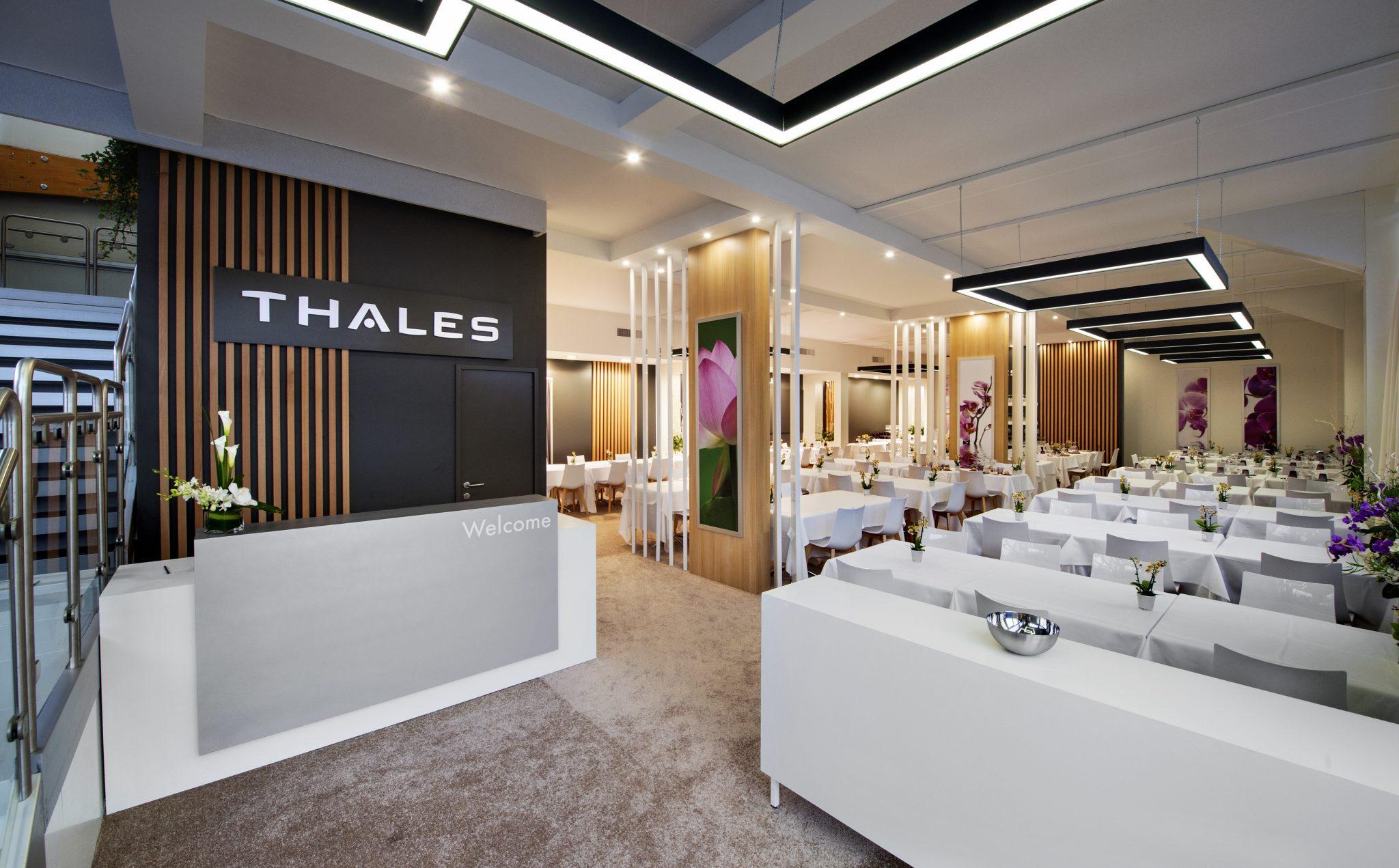 Stand Thales - 1610 m² + mezzanine 125 m² - Salon Eurosatory ...